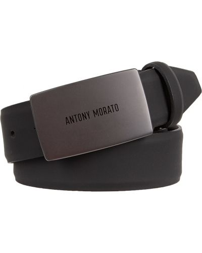 Черный ремень Antony Morato