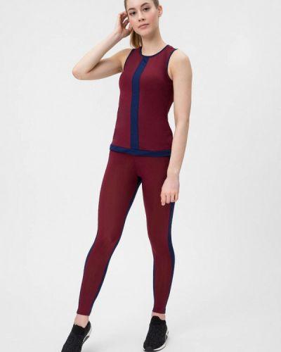 Спортивный костюм для фитнеса - бордовый Go Fitness