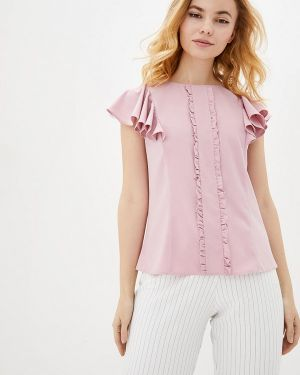 Розовая блузка Zubrytskaya