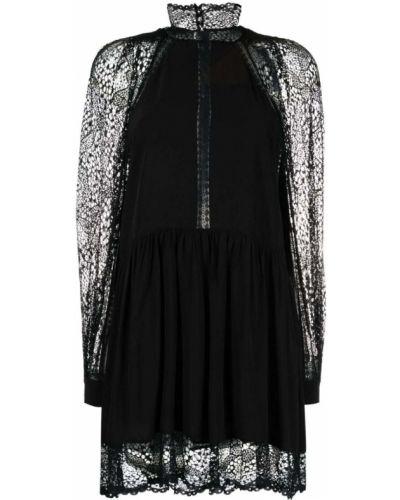Ажурное платье - черное Iro