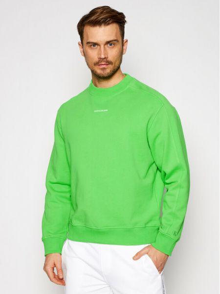 Zielony dres Calvin Klein Jeans
