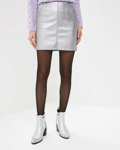 Кожаная юбка весенняя Dorothy Perkins