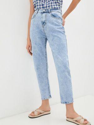 Голубые широкие джинсы Grafinia