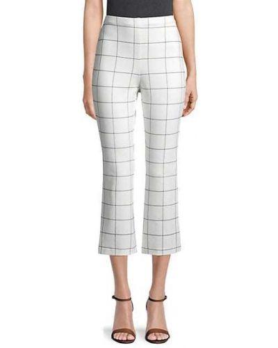 Białe spodnie z nylonu z printem Bailey 44