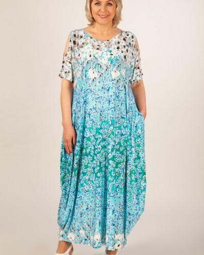 Летнее платье трикотажное в стиле бохо милада