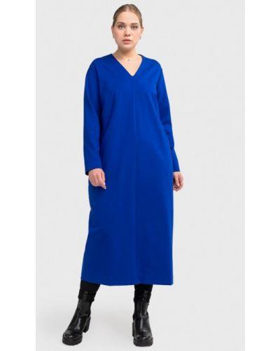 Платье - синее W&b