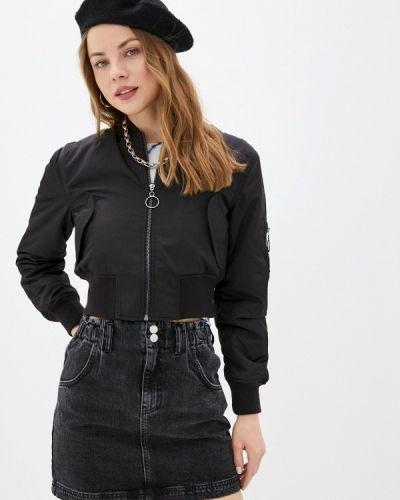 Черная куртка Topshop
