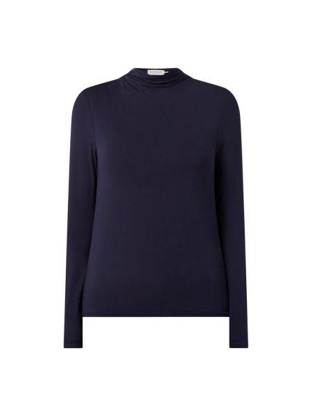 Niebieska bluzka z wiskozy Rosemunde