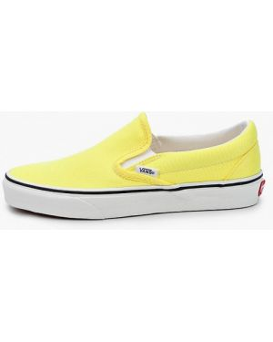 Слипоны желтый Vans
