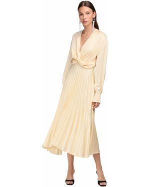 Платье миди макси на пуговицах Magda Butrym