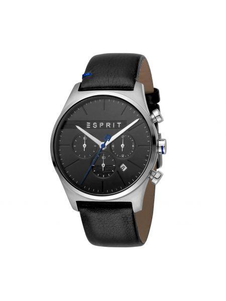 Zegarek srebrny - czarny Esprit