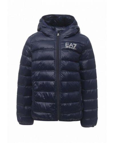 Куртка весенний синий Ea7