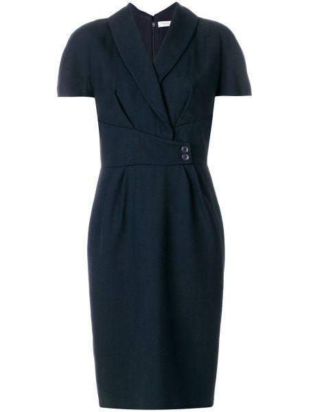 Платье мини винтажная на пуговицах Christian Dior