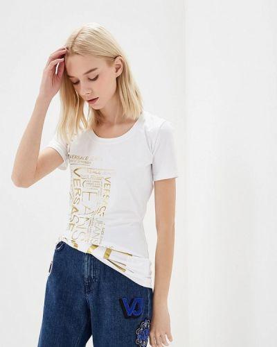 Белая футболка Versace Jeans