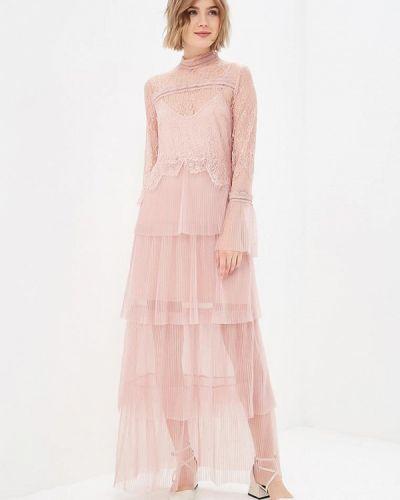 Вечернее платье розовое декаданс True Decadence