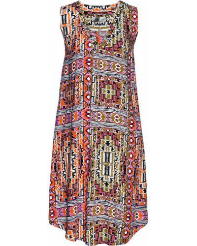 Платье хаки Bonprix
