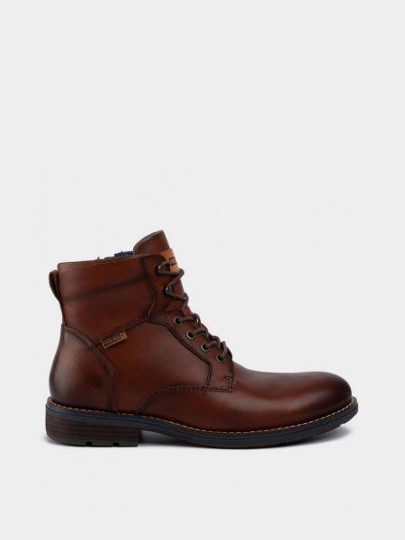 Кожаные ботинки - коричневые Pikolinos