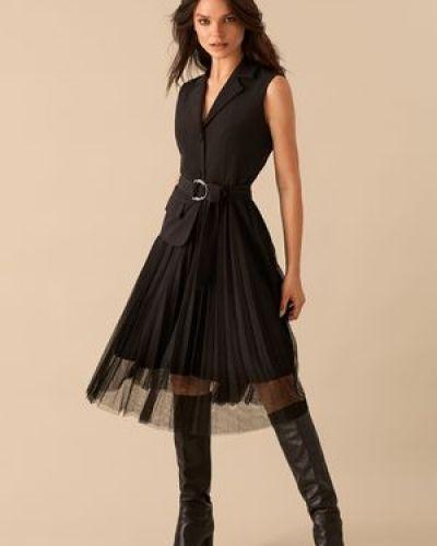 Платье с декоративной отделкой Love Republic