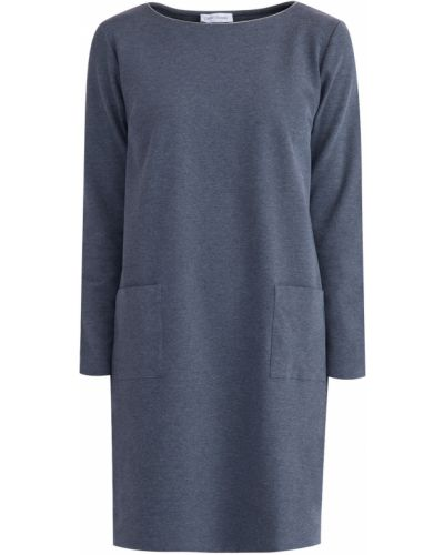 Платье с длинными рукавами прямое Gran Sasso