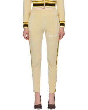 Спортивные брюки с лампасами со штрипками Palm Angels