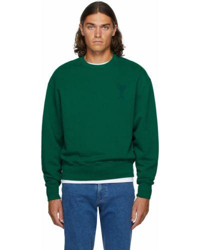 Bluza dresowa - zielona Ami Alexandre Mattiussi