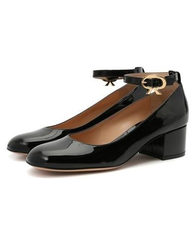 Кожаные туфли с подкладкой Gianvito Rossi