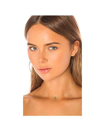 Чокер золотой металлический Natalie B Jewelry