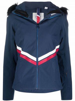 Куртка горнолыжная с капюшоном - синяя Rossignol