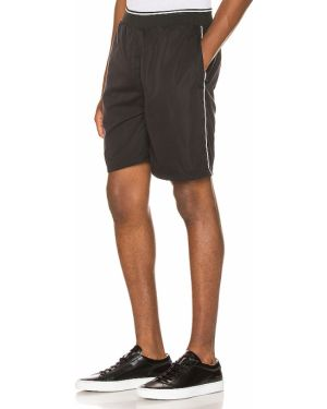 Czarne szorty jeansowe vintage Zanerobe