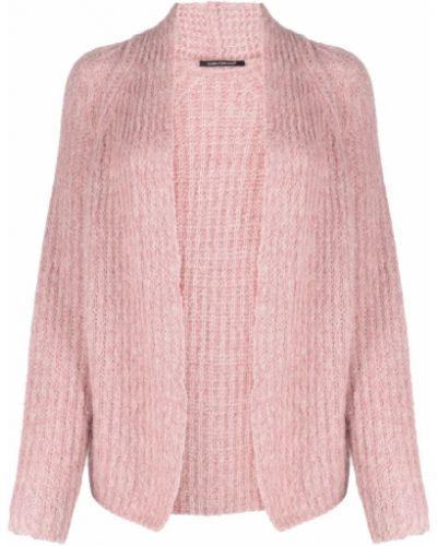 Кардиган из альпаки - розовый Luisa Cerano