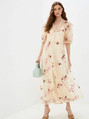 Вечернее платье - бежевое Sister Jane