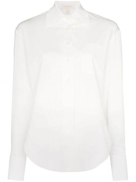 Koszula z długim rękawem biała biznes Materiel