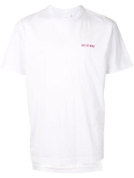 Koszula krótkie z krótkim rękawem z logo z haftem Off Duty