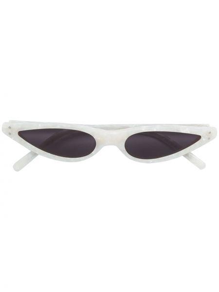 Муслиновые солнцезащитные очки хаки George Keburia