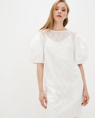 Белое вечернее платье Dolcedonna