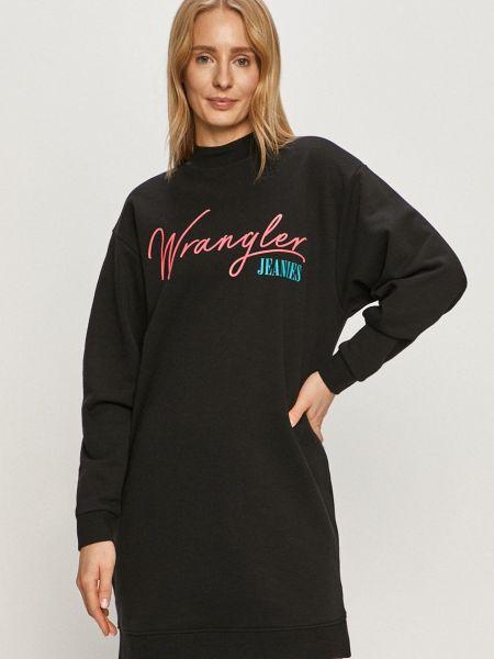 Прямое трикотажное платье с длинными рукавами Wrangler