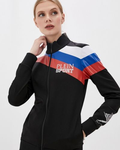 Черный спортивный спортивный костюм Plein Sport