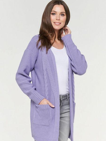 Свитер весенний фиолетовый Vay