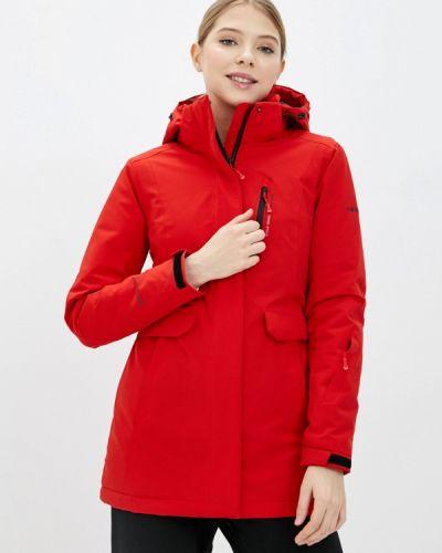 Утепленная красная куртка High Experience
