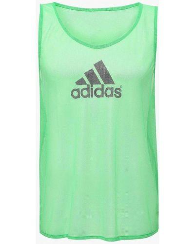 Спортивная майка зеленый Adidas