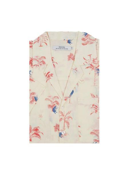 Koszula krótkie z krótkim rękawem w paski z paskami Dedicated
