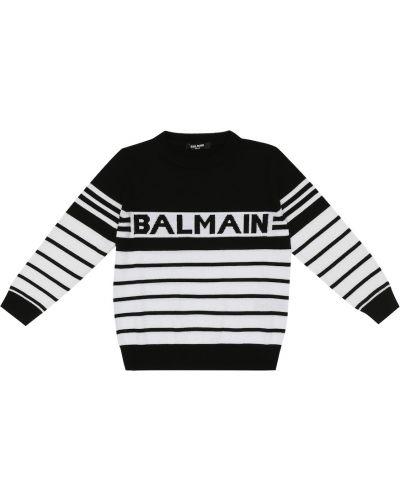 Zimowy sweter Balmain Kids