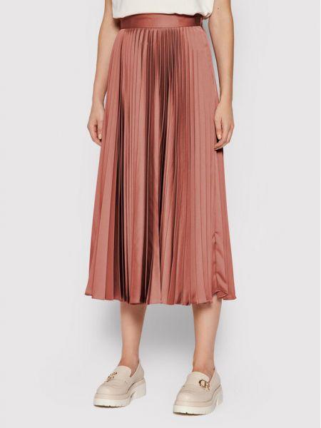 Spódnica plisowana - różowa Twinset
