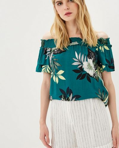 Зеленая зимняя блузка Dorothy Perkins