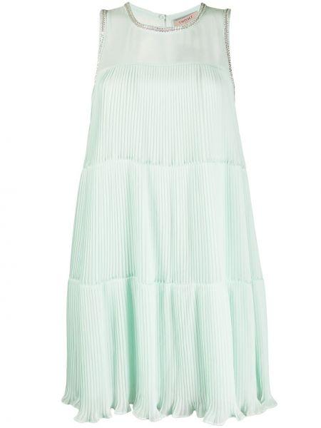 Платье на пуговицах плиссированное Twin-set