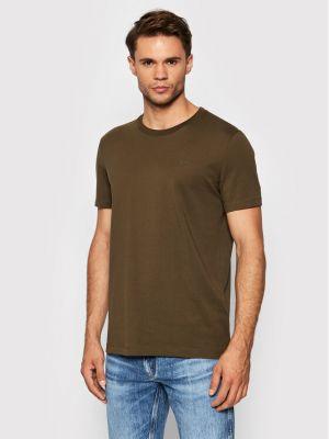 T-shirt - zielona Boss