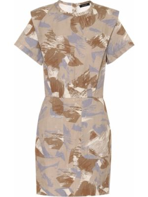 Льняное платье мини Isabel Marant