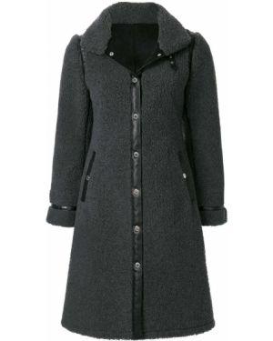 Расклешенное длинное пальто с капюшоном Loveless