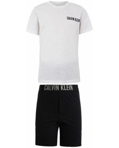 Piżamy z szortami elegancka Calvin Klein