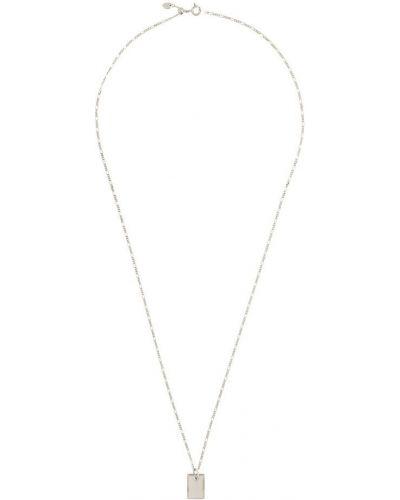 Ожерелье черный серебряный Maria Black